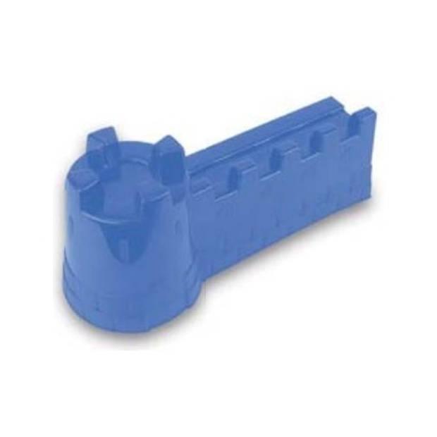 Yello zandvorm kasteelmuur blauw 42 x 16 x 18 cm