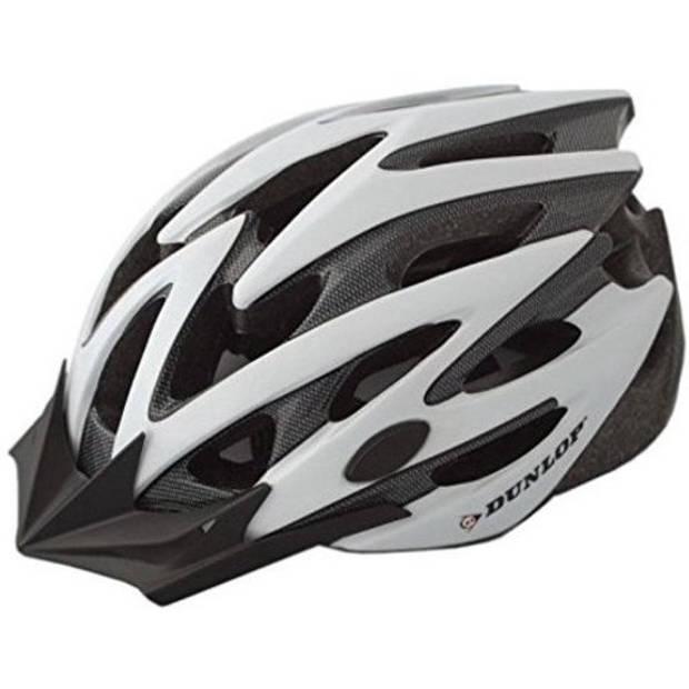 Dunlop fietshelm MTB wit