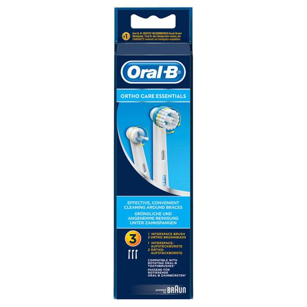 Oral-B opzetborstels Ortho Care - 3 stuks