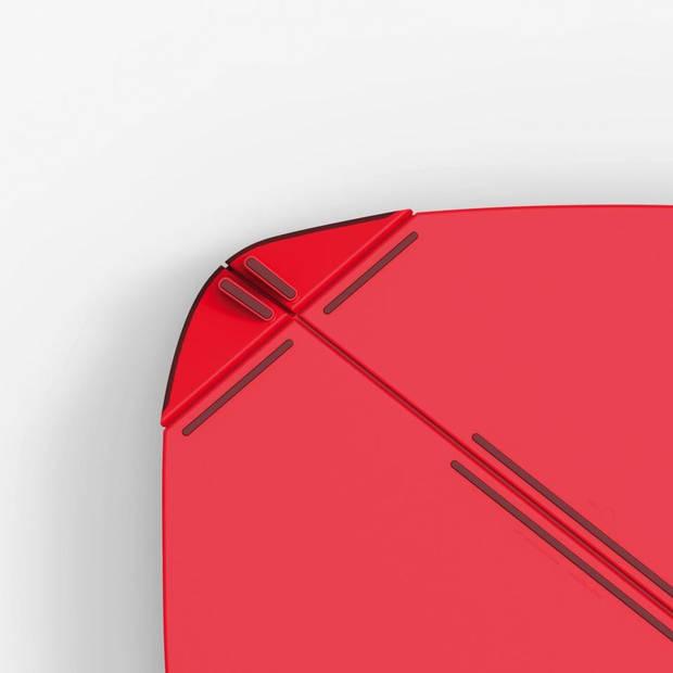 Joseph Joseph Duo snijplank - opvouwbaar - rood
