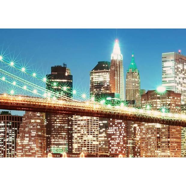 - New York East River - 366 x 254 cm - Multi