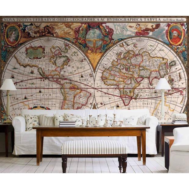 Antique Map - 232 x 315 cm - Multi