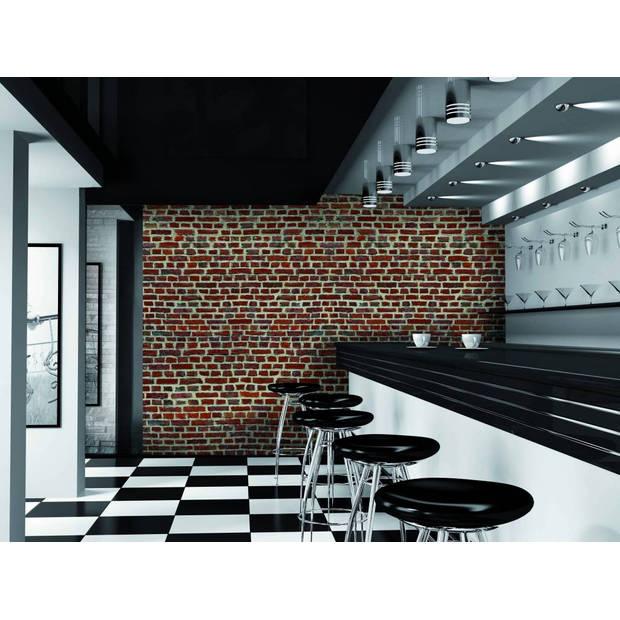 Red Bricks - 232 x 315 cm - Multi