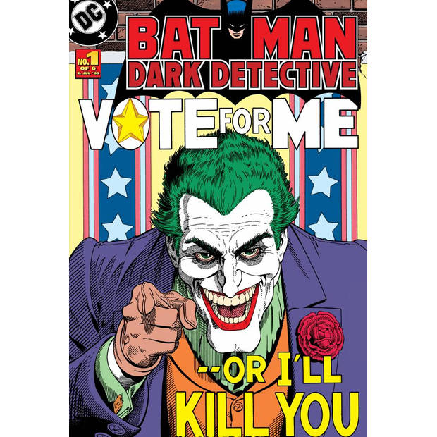Joker - Posterbehang - 232 x 158 cm - Multi