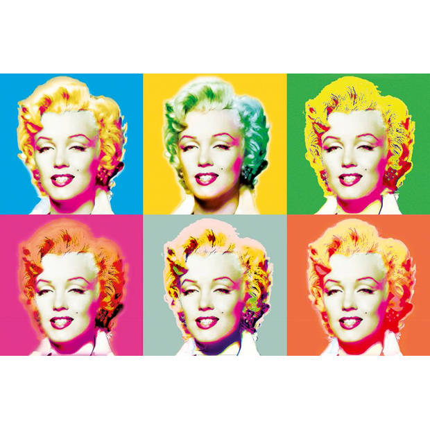 Visions of Marilyn - Poster XXL - 175 x 115 cm - Multi colour