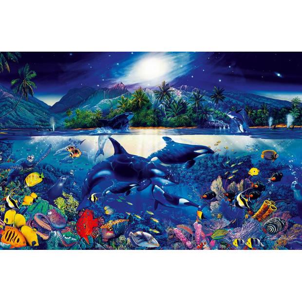 Majestic Kingdom - Poster XXL - 175 x 115 cm - Multi
