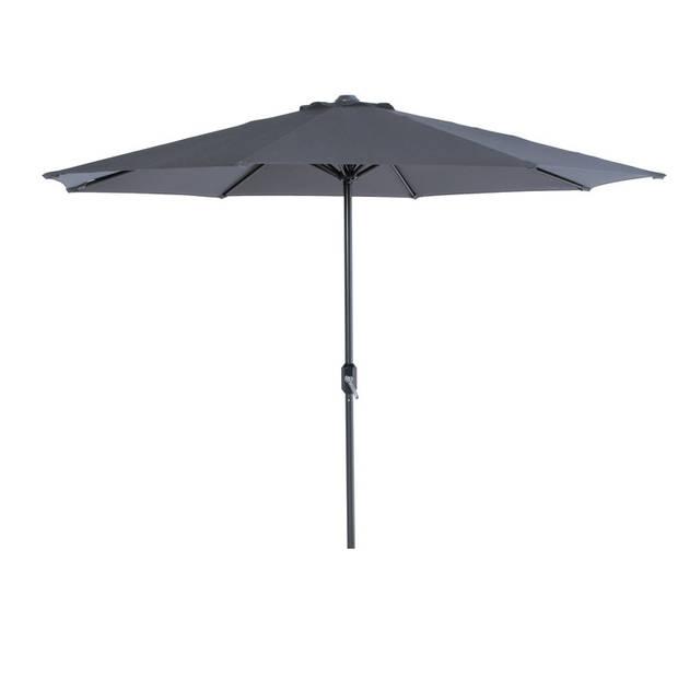 Garden Impressions Lotus parasol Ø300 cm - donker grijs