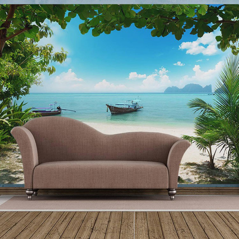 Fotobehang Phi Phi Island (366 X 254 Cm)