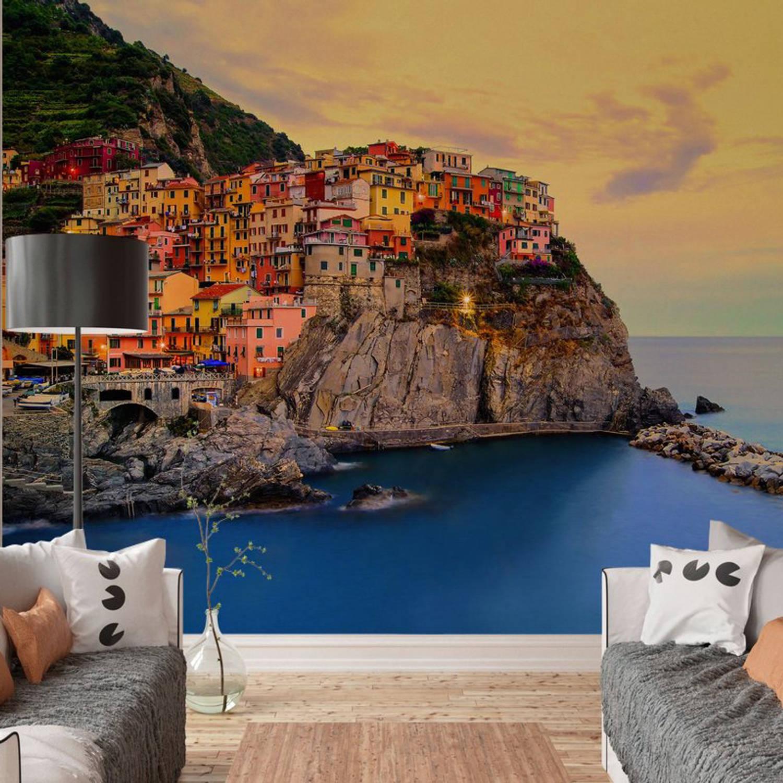 Fotobehang Cinque Terre Coast (366 x 254 cm)