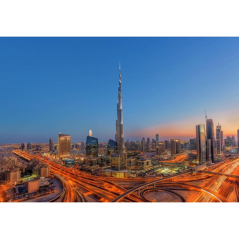 - Burj Khalifah - Fotobehang - 366 x 254 cm - Multi