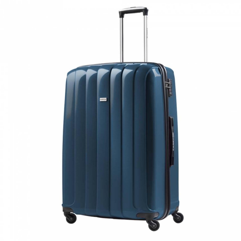 carry on porter l koffer blauw blokker. Black Bedroom Furniture Sets. Home Design Ideas