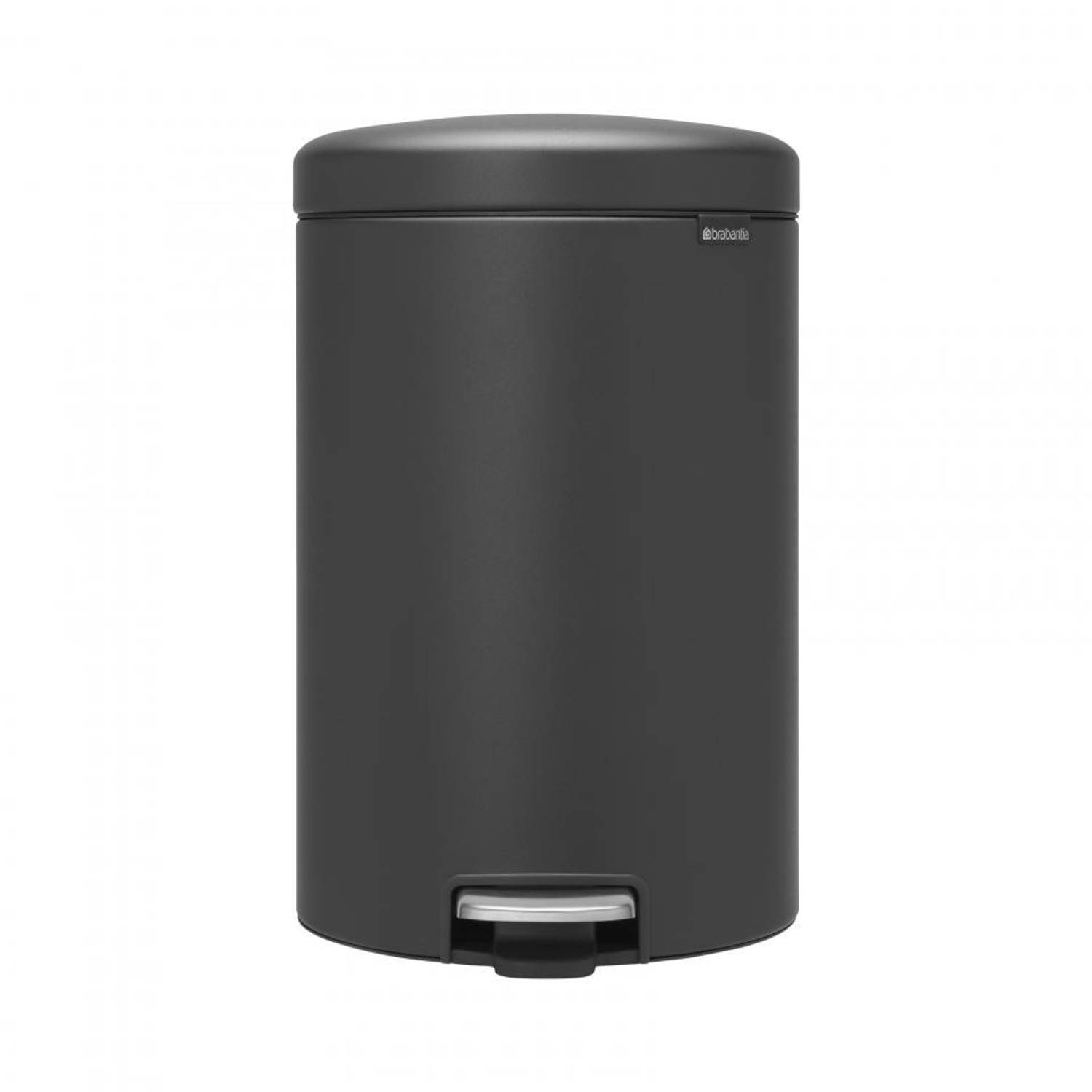 Brabantia newIcon pedaalemmer - 20 l - Mineral Infinite Grey