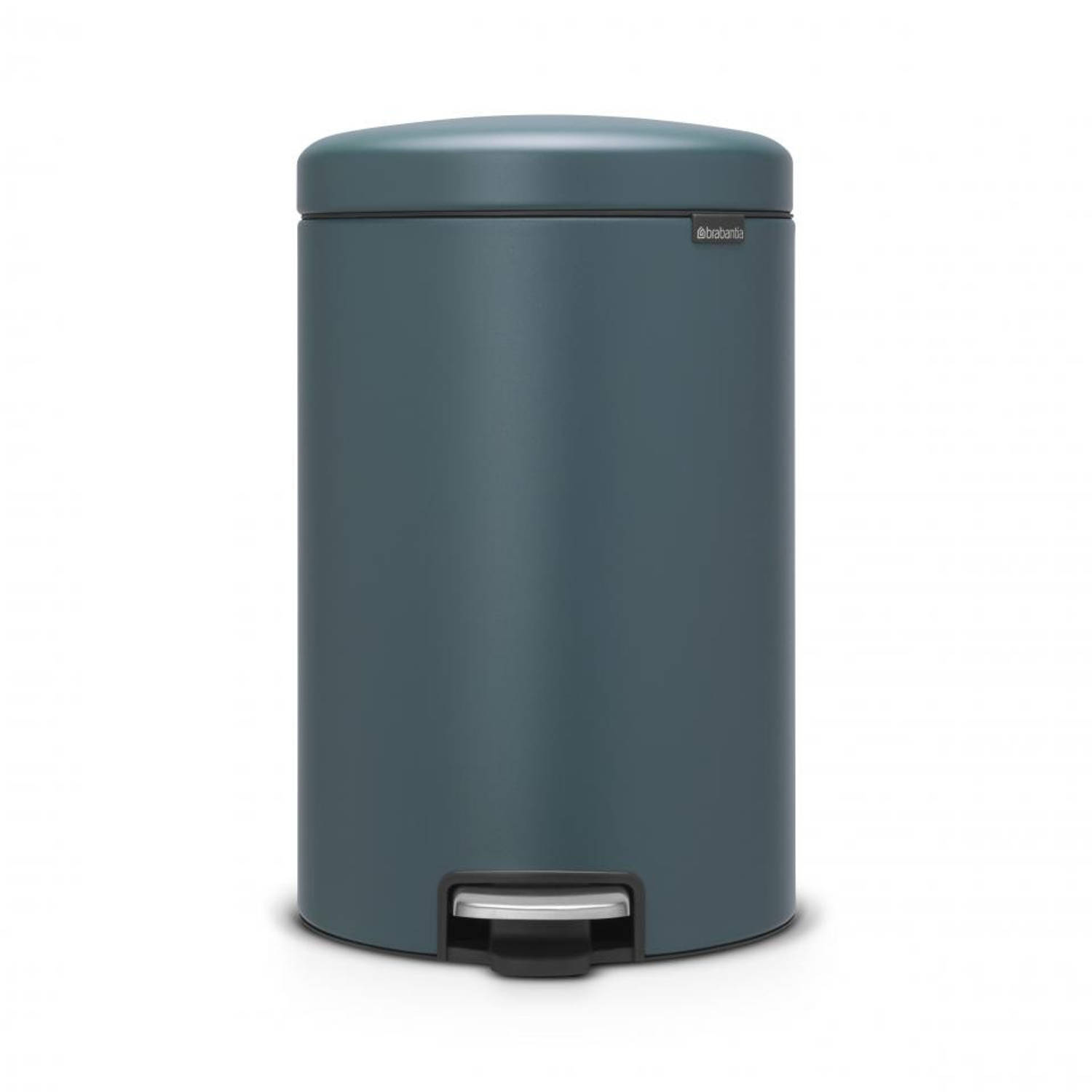 Brabantia newIcon pedaalemmer - 20 l - Mineral Reflective Blue