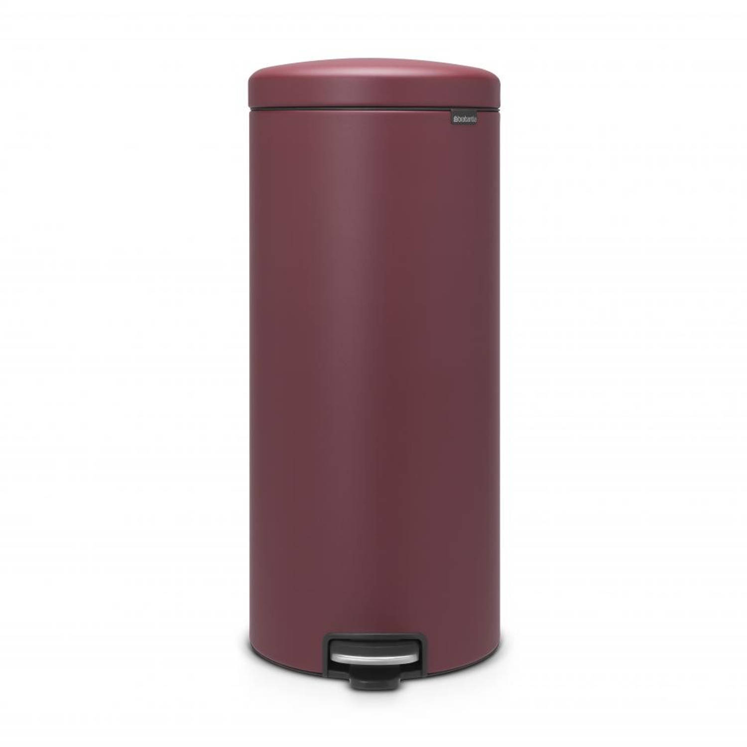 Brabantia newIcon pedaalemmer - 30 l - Mineral Windsor Red
