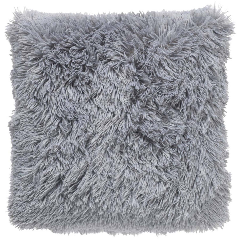 Dutch Decor Sierkussen Fluffy 45x45 cm mist