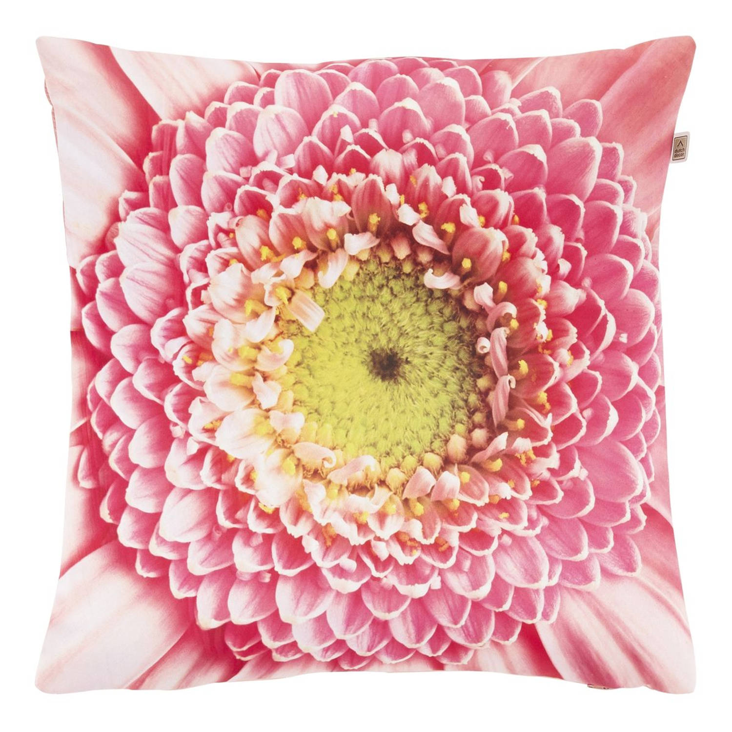 Dutch Decor Sierkussen Sindy 45x45 cm roze