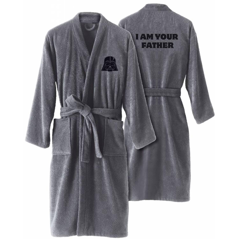 Disney darth vader - badjas - xxl - grijs