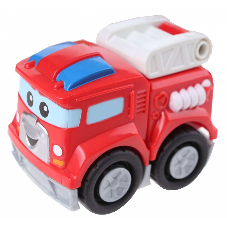 Fisher-Price Mega Bloks brandweerwagen Freddy 3-delig