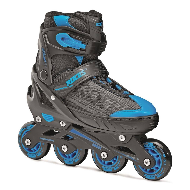 247e2b3f165 Roces inline skates jokey 1.0 junior zwart/blauw maat 38-41   Blokker