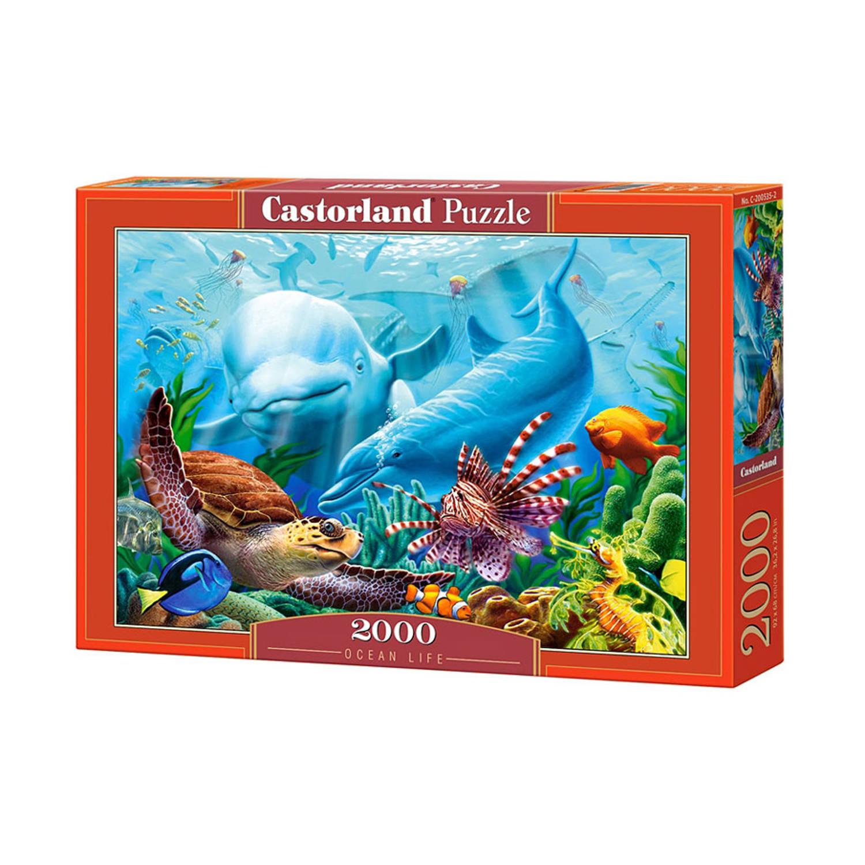 Castorland puzzel oceaan leven 2000 stukjes