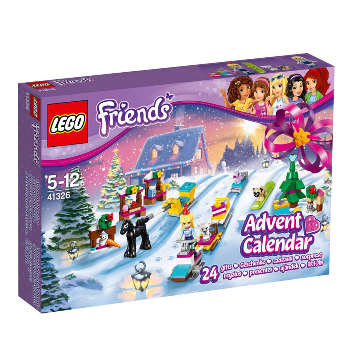 LEGO, Friends, adventkalender, kerst, , christmas