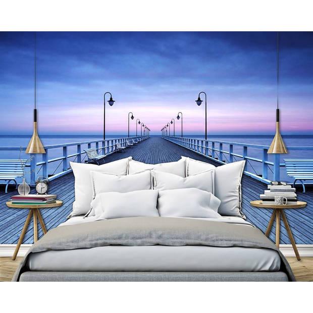 - Pier at the Seaside - 366 x 254 cm - Multi