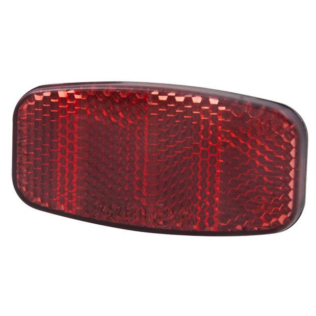 Spanninga reflector voor bagagedrager rood per stuk