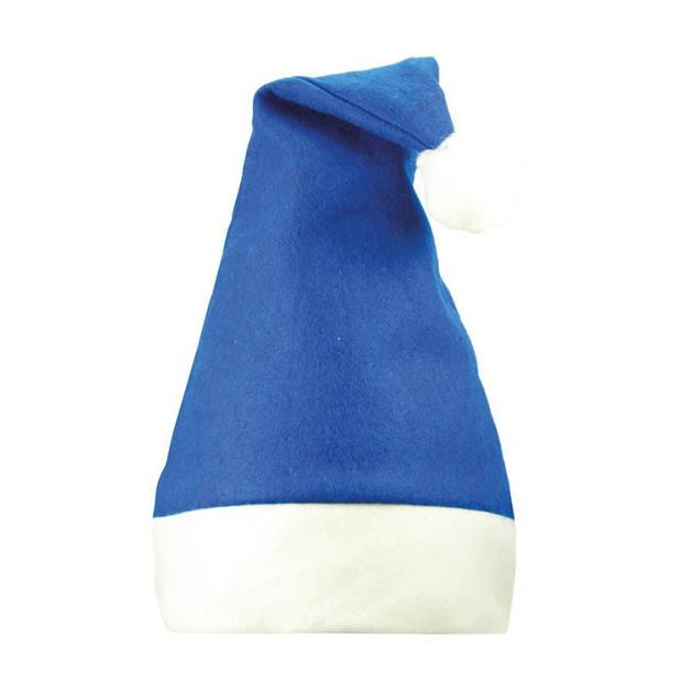 Benza Kerstmuts - Blauw