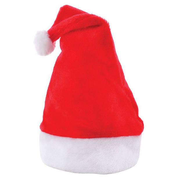 Benza Luxe Kerstmuts - Rood