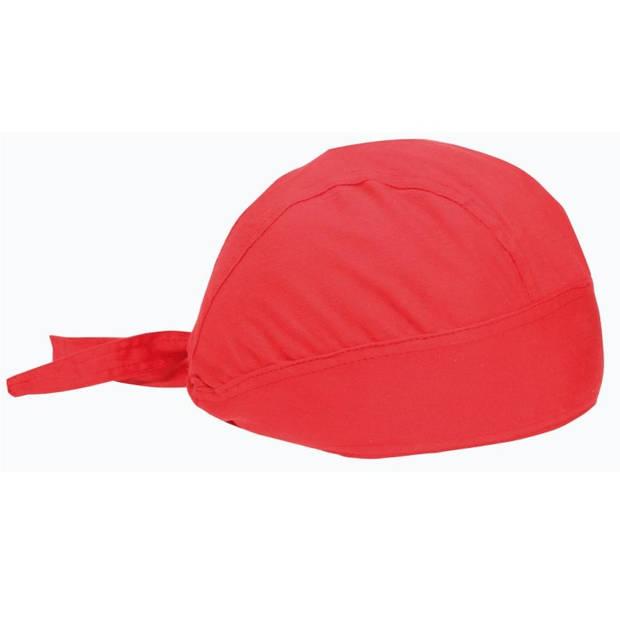 Benza - Bandana - Rood - Voorgevormd