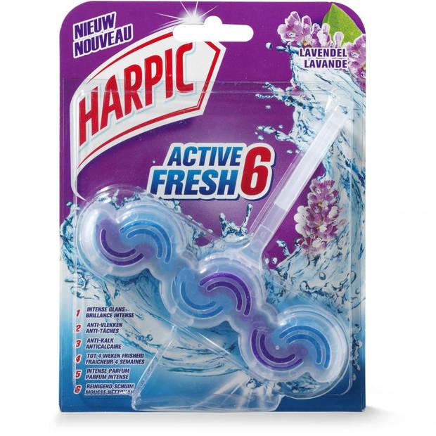 Harpic Active Fresh 6 toiletblok - lavendel