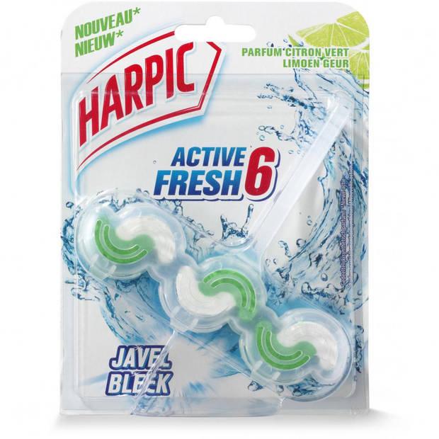 Harpic Active Fresh 6 toiletblok - limoen