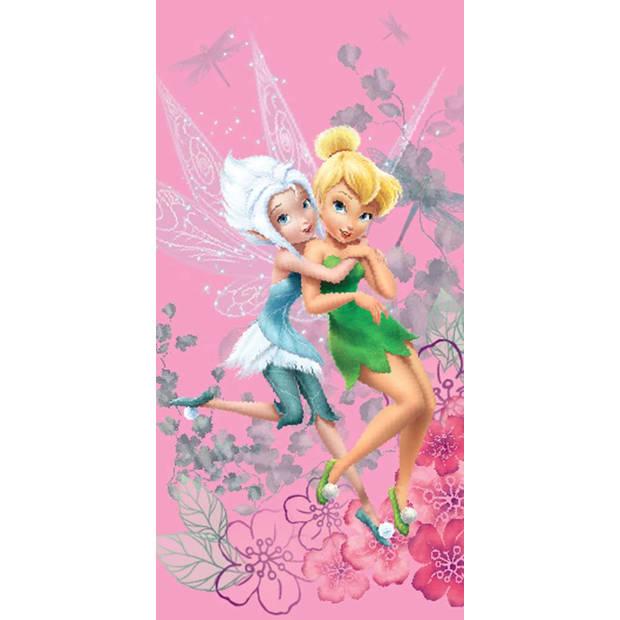 Disney Winter - Strandlaken - 70 x 140 cm - Roze