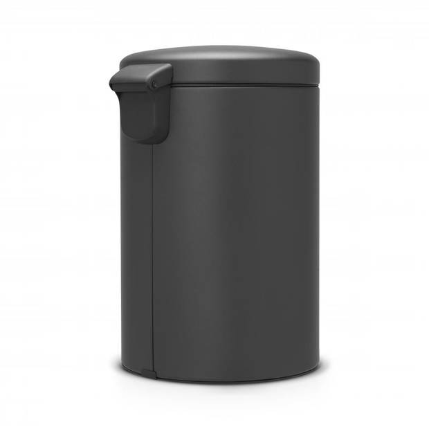 Brabantia newIcon pedaalemmer 20 liter met kunststof binnenemmer - Mineral Infinite Grey