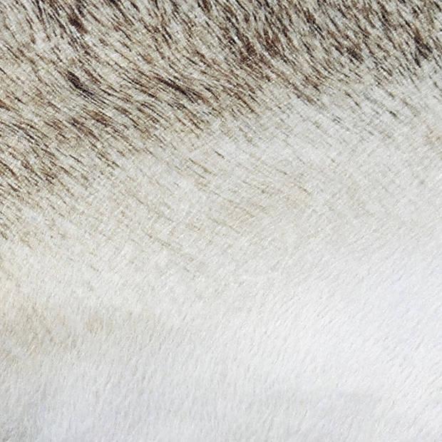 Dutch Decor Sierkussen Moose 45x45 cm zand