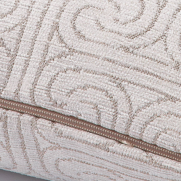 Dutch Decor Sierkussen Reflex 45x45 cm ivoor
