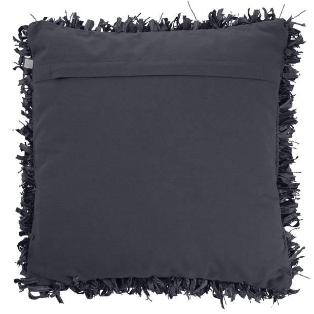 Dutch Decor Sierkussen Shannon 45x45 cm zwart