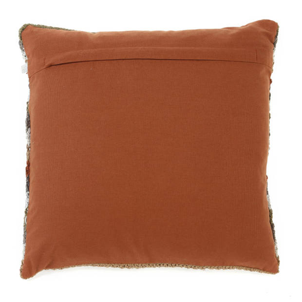 Dutch Decor Sierkussen Casta 45x45 cm cognac