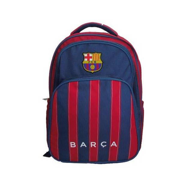 FC Barcelona - Laptop Rugzak - 3 vakken - 47 x 34 x 18 cm - Multi colour