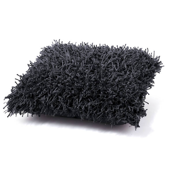 Dutch decor sierkussen ottawa 45x45 cm zwart