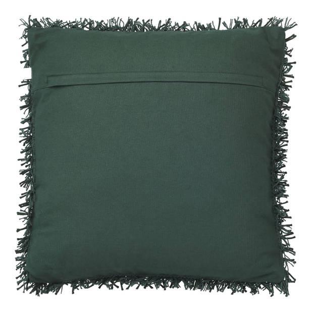 Dutch Decor Sierkussen Ottawa 45x45 cm groen