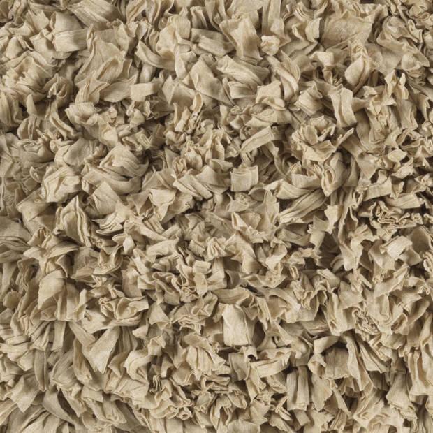 Dutch Decor Sierkussen Romano 45x45 cm zand
