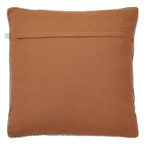 Dutch Decor Sierkussen Terres 45x45 cm cognac
