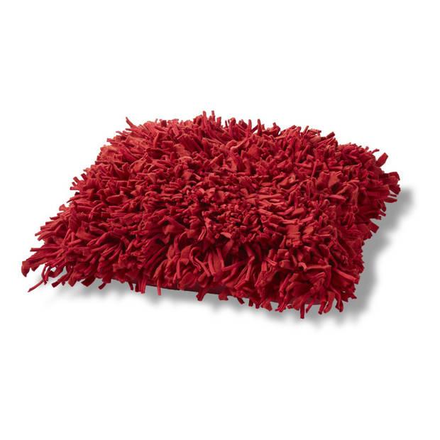 Dutch Decor Sierkussen Brijo 45x45 cm rood