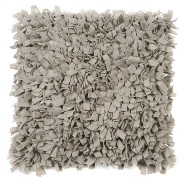 Dutch Decor Sierkussen Pillo 45x45 cm zand