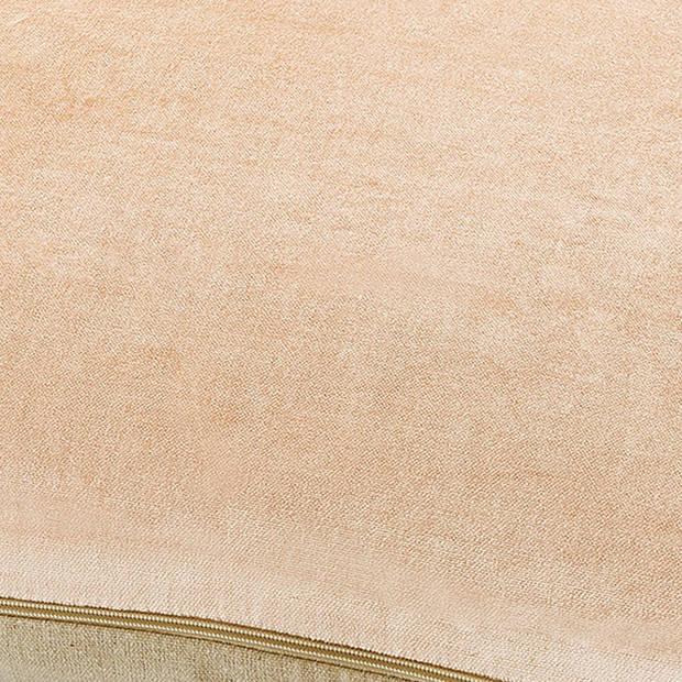 Dutch Decor Sierkussen Krone 45x45 cm zalm