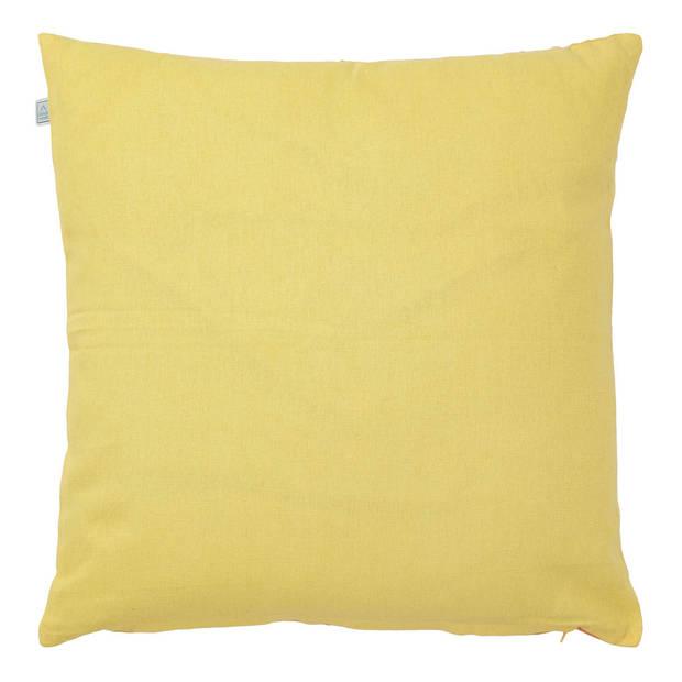 Dutch Decor Sierkussen Karkin 45x45 cm geel