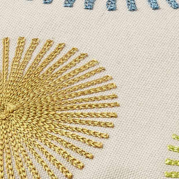 Dutch Decor Sierkussen Nardia 45x45 cm zand