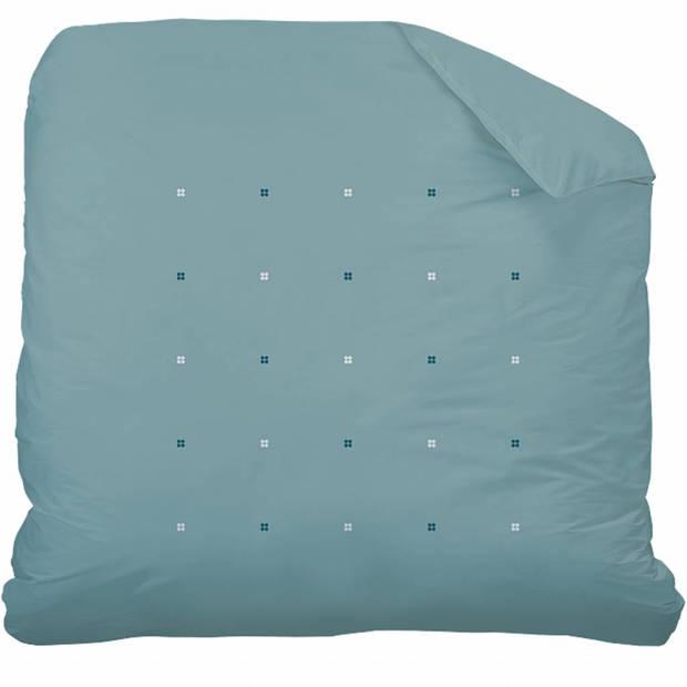 Matt & Rose Dragées délices Blue - Dekbedovertrek - Lits Jumeaux - 240 x 220 cm - Groen