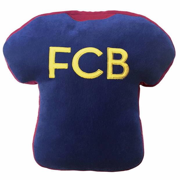FC Barcelona 3D T-Shirt Maillot - Sierkussen - 36 cm - Multi